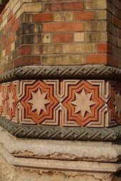 Budapest Synagogue detail, star of David
