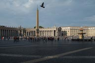 Saint Peter Square Column, dove.