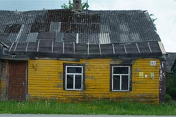 Old house, Lithuania.