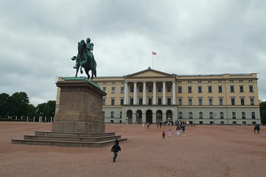 Royal Palace, Oslo.