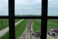 Auschwitz Birkenau from the watch tower.