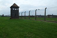 Auschwitz Birkenau, watch tower.