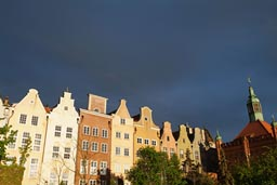 Gdansk sun after rain.