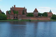 Malbork on Nogat, in the Vistula Delta.