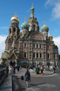 Cjurch of the Savior on Spilled Blood. St. Petersburg.