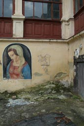 In the backyard of the Armenian orthodox church, L'viv.