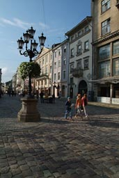 Ukraine, Lemberg, L'viv, market square, old city center