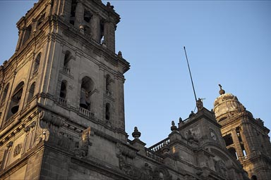 Cathedral Mexico City.