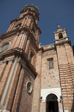 Our Lady of Guadalupe' church. Puerto Vallarta.