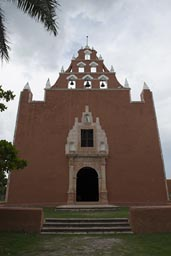 Mama church in Yucatan.