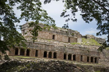 Maya archaeological site, Sayil.