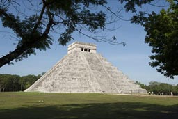 Great Pyramid in Chichen Itza.