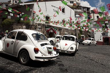 Dance of Vochito beetles. Taxco.