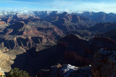 Grand Canyon, view to east.