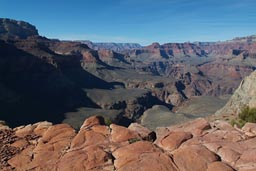 Little plateau, Grand Canyon.