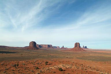 Wide open, holy Navajo land.