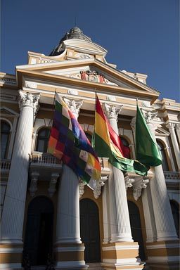Bolivian Plurinational Legislative Assembly, La Paz.