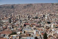 La Paz, quasi capital of Bolivia.