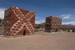 From Inca times, funeraries, Bolivia Altiplano.