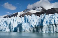The O'Higgins glacier, Chile.