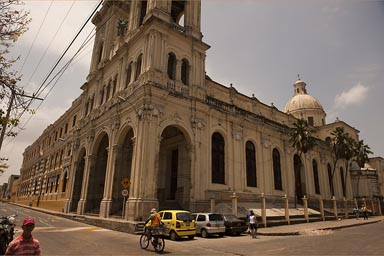 Barranquilla cathedral, Colombia..