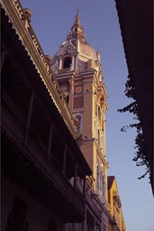 Cartagena cathedral.