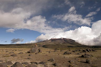 Cotopaxi, plains on 3,900m.