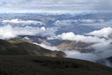 3,600m of altitude, Amazonas, Peru.
