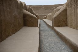 Chan Chan, Chimu city from 850 to 1470 A.D., Peru near Trujillo..