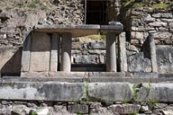 Chavin de Huantar, Falcon Portal of old Temple.
