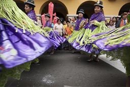 Bollera dresses, Independence Day, Peru.