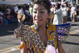 Beautiful dancer, Arequipa Day.