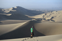 There are worse places in the workd to pee, than in Huacachina desert dunescape.