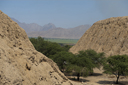 Sipan archeological site, here the found the worlds most famous and richest grave after Tutankhamun, exhibited in the impressive Lambayeque Lord of Sipan museum, Northern Peru.
